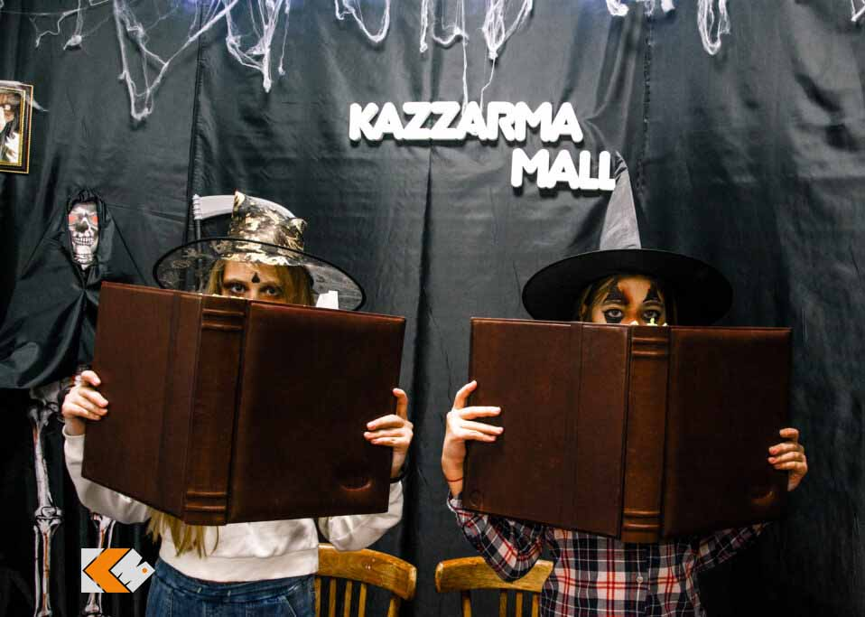 Полный фотоотчет с празднования Хэллоуина в KAZZARMA MALL + видео