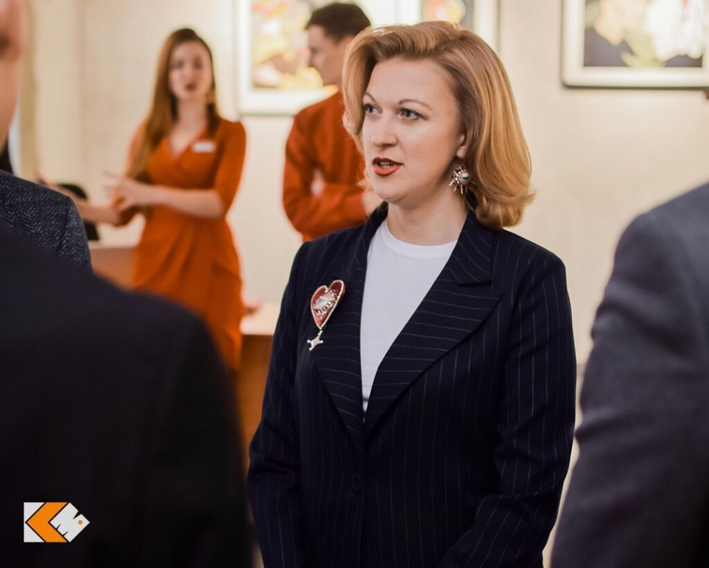 Фотоотчет с открытия выставки «Личное дело» Нади Буди  в KAZZARMA MALL
